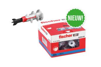 FISCHER-GIPSPLAATPLUG-DUOBLADE