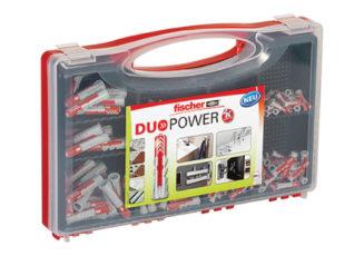 fischer-assortiment-pluggen-red-box-duopower